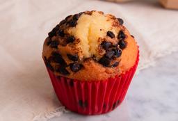 Muffin de Vainilla con Chips de Choco