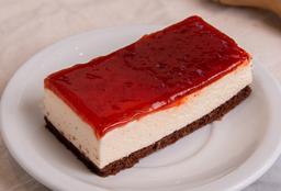 Porción de Cheesecake de Frambruesa