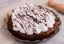 Torta de Brownie con Merengue