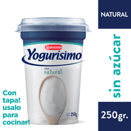 Yogur Yogurisimo Batido - Natural X 250Gr