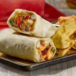 Burrito de Pollo con Nachos