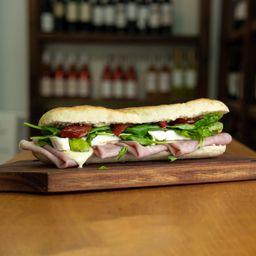 Sándwich de Brie y Cocido