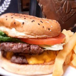 Hamburguesa Clasica Doble Carne