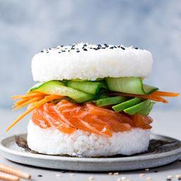 Sushi Burger Salmón