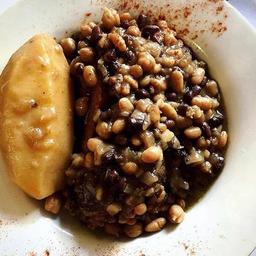 Cholent - Cebada Pastrami y Carne