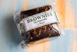 Brownie de Algarroba y Nuez