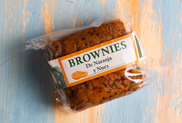 Brownie de Naranja y Nuez