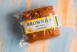 Brownie de Limón y Almendras