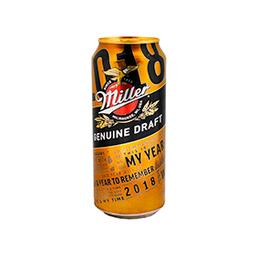 Cerveza Miller 500 Cc
