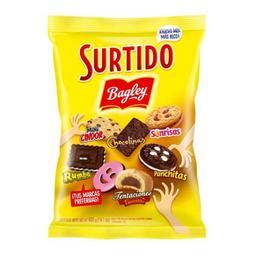 Galletitas Surtido Bagley bolsa X 400 gr