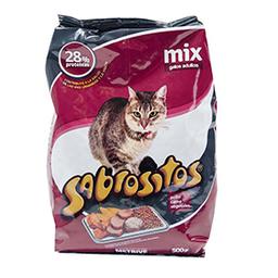 Alimento Para Gatos Sabrositos Mix 500 Gr