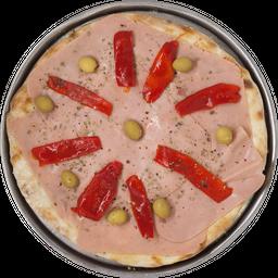 Pizza con Jamón & Morrones