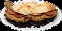 Sándwich de Mila con Lechuga & Tomate