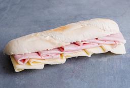 Sándwich con Jamón Cocido