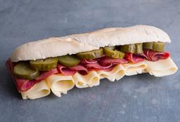 Sándwich con Pastrón