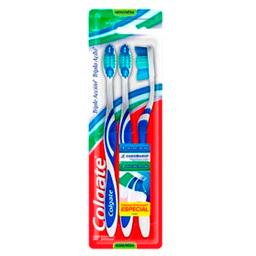 Combo 2U Cepillo Dental Colgate Triple Acción Medio