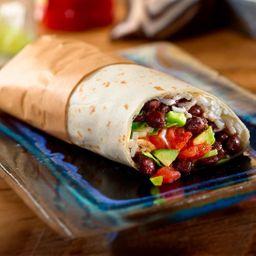 2 Burritos de Frijoles Rojos con Carne O Pollo y Gaseosa