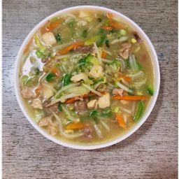 Sopa Mix Pollo Carne Cerdo y Verduras