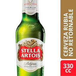 Combo 2 Unidades Cerveza Stella Artois 330 Ml