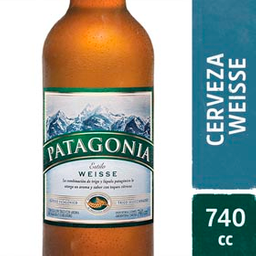 Combo 2 Unidades Cerveza Patagonia Weisse 740 Ml