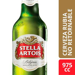 Combo 2 Unidades Cerveza Descartable Stella Artois 975 Ml.