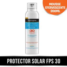 Neutrogena Sun Fresh Protector Solar Fps 30 Mousse X 200 Ml
