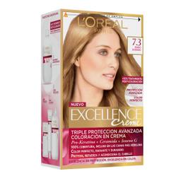 Tintura Permanente Excellence Creme De L'Oréal 73 Rubio X47Gr