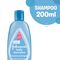 Shampoo Johnson Baby Frag Prolongada 200Ml