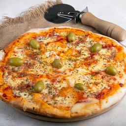Promo 15 - Pizza Muzza & Cerveza