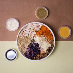 Bowl de Quinoa & Zanahoria Asada.