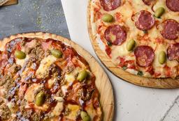 2 Pizzas Grandes Tradicionales