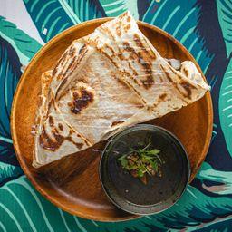 Roti Canai con Curry