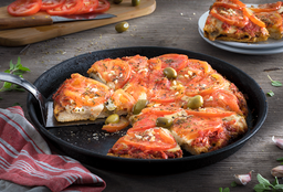 Pizza Napolitana Grande + 2 Quilmes Clásica