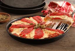 Pizza de Jamón & Morrón