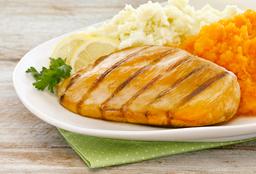 Pollo Grillé + Puré de Papas