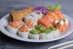 Tabla Sushi Premium Only Salmón x 26