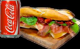 Sándwich de Prosciutto + Bebida