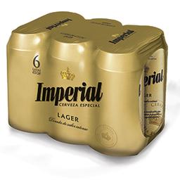 Cerveza Imperial 473 mL X 6