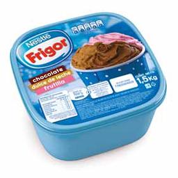 Helado Friogor Chocolate - Dulce de Leche - Frutilla 1.5 Kg