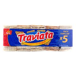 Galletitas Sandwich Traviata Pack 5 Un 505 Gr