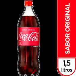 Bebida Gaseosa Coca Cola Sabor Original 1.5 L.