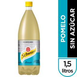 Gaseosa Schweppes Pomelo Sin Azúcar 1.5 L