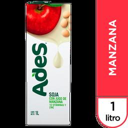 Jugo Ades Soja Con Jugo de Manzana 1 L