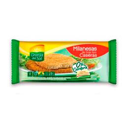 Milanesa De Soja Casera Granja Del Sol 24X330G (4U)