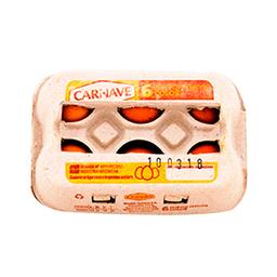 Huevos De Color Carnave 6 Un