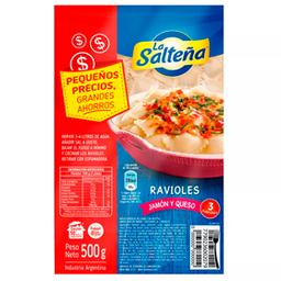 Ravioles De Jamon Y Queso Pocket La SaltenñA 500 Gr