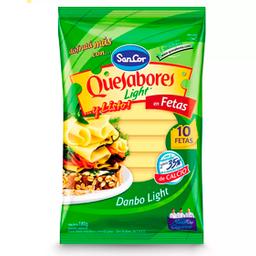 Queso Dambo Feteado Sancor Quesabores Light 180 Gr