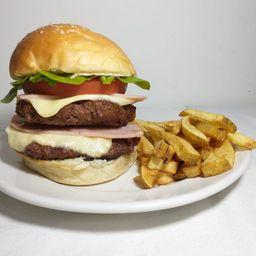 Burger Krusty Doble