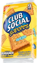 Galletita  Club Social Queso x 42 G