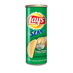 Snack  Lays Stax Crema y Cebolla x 140 G